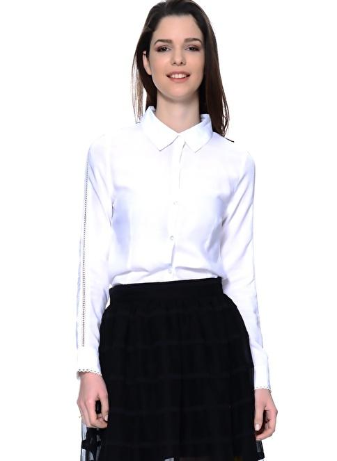 Unique Gömlek Beyaz